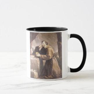 St. Francis of Assisi at Prayer Mug