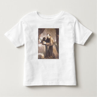 St. Francis of Assisi at Prayer Toddler T-shirt