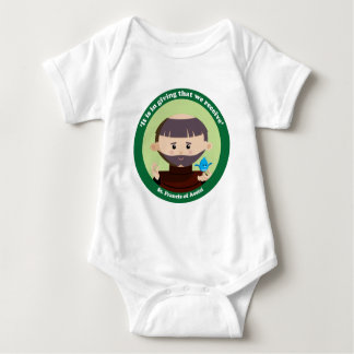 St. Francis of Assisi Baby Bodysuit