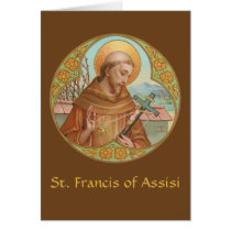 St. Francis of Assisi (BK 002) Blank Greeting Card