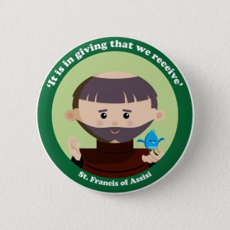 St. Francis of Assisi Button