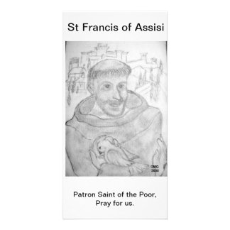 St Francis of Assisi Card
