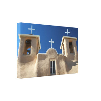St. Francis of Assisi Church III Gallery Wrapped Canvas