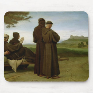 St. Francis of Assisi Mouse Pad