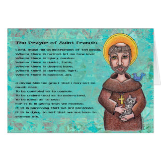 St. Francis of Assisi Notecard