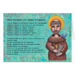St. Francis of Assisi Notecard Stationery Note Card