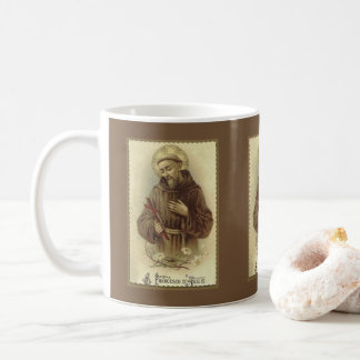 St. Francis of Assisi Patron Saint of Animals Coffee Mug