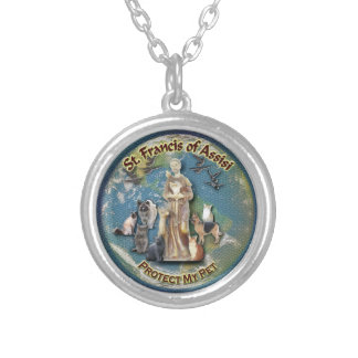 St Francis of Assisi - Pet Necklace
