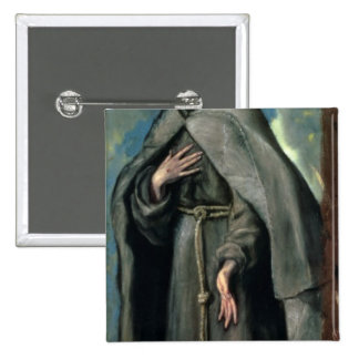 St.Francis of Assisi Pinback Button