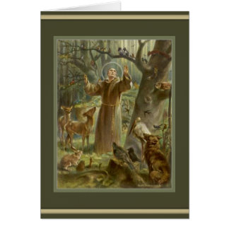 St. Francis of Assisi prayer inside Card