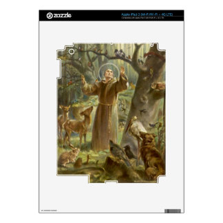 St. Francis of Assisi Preaching to the Animals iPad 3 Skin