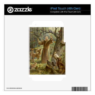 St. Francis of Assisi Preaching to the Animals iPod Touch 4G Skins