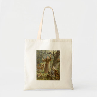 St. Francis of Assisi Preaching to the Animals Tote Bag