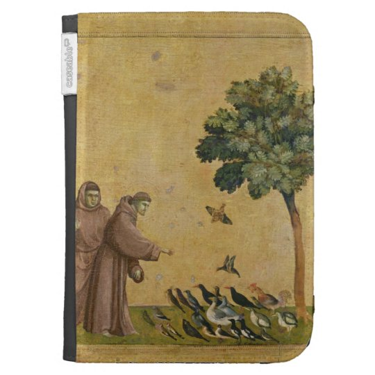 St. Francis of Assisi preaching to the birds Cases For Kindle
