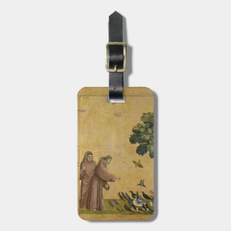 St. Francis of Assisi preaching to the birds Luggage Tag