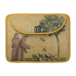 St. Francis of Assisi preaching to the birds MacBook Pro Sleeves