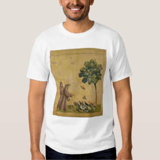 St. Francis of Assisi preaching to the birds Tee Shirt