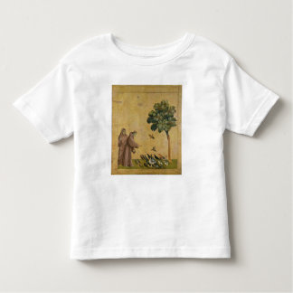 St. Francis of Assisi preaching to the birds Toddler T-shirt