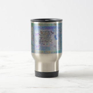 St. Francis of Assisi quotation about animals Travel Mug