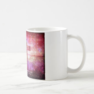St. Francis of Assisi Quote about PEACE art Coffee Mug