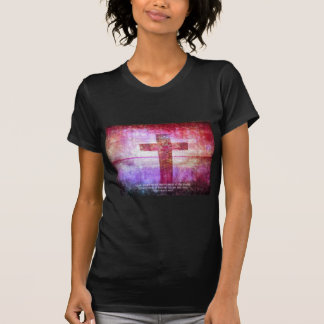 St. Francis of Assisi Quote about PEACE art T-Shirt