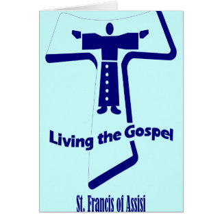 St Francis of Assisi Quote Card