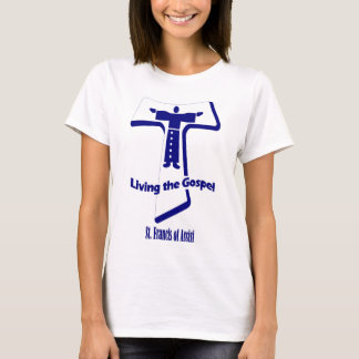 St Francis of Assisi Quote T-Shirt