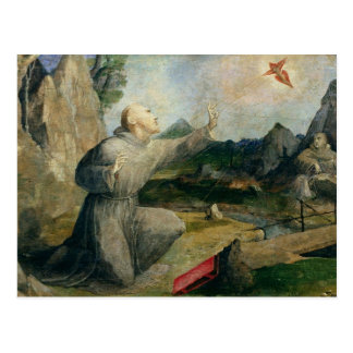 St. Francis of Assisi Receiving the Stigmata Postcard