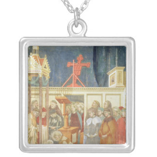 St. Francis of Assisi Silver Plated Necklace