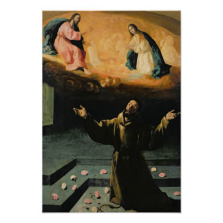 St. Francis of Assisi,The Miracle of the Roses Poster