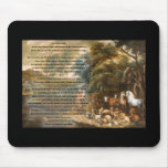 St. Francis of Assisi & The Rainbow Bridge Mouse Pads