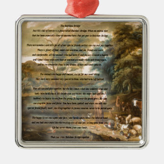 St. Francis of Assisi & The Rainbow Bridge Ornament