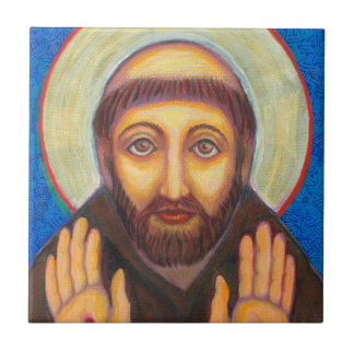 St Francis of Assisi Tile