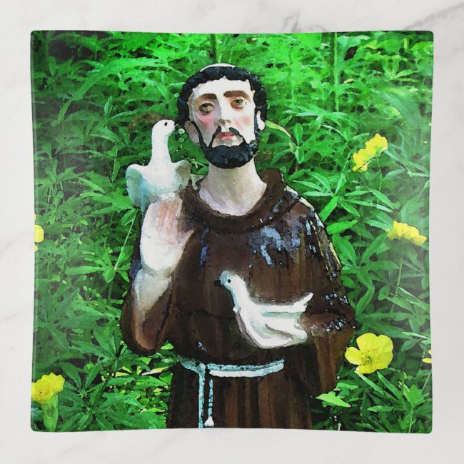 St. Francis of Assisi Trinket Tray