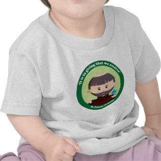 St. Francis of Assisi Tshirt