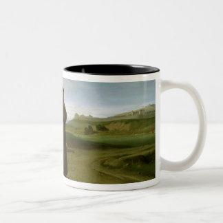 St. Francis of Assisi Two-Tone Coffee Mug