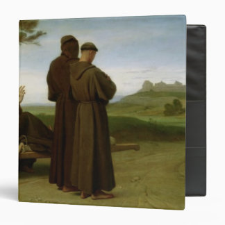 St. Francis of Assisi Vinyl Binder