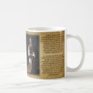 St Francis of Assisi's Prayer Coffee Mug