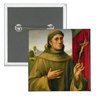 St. Francis of Assissi, c.1490 (tempera on panel) Button