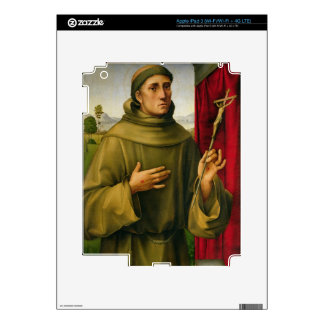 St. Francis of Assissi, c.1490 (tempera on panel) iPad 3 Skins