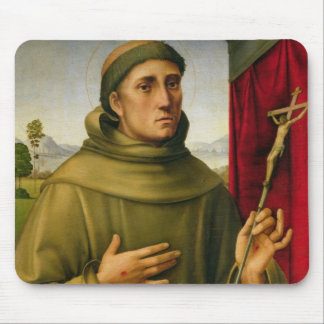 St. Francis of Assissi, c.1490 (tempera on panel) Mouse Pad
