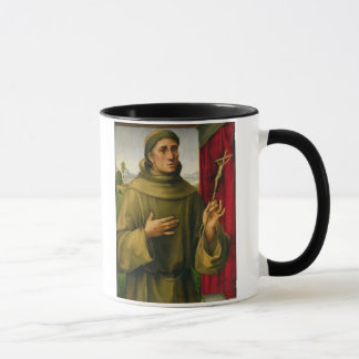 St. Francis of Assissi, c.1490 (tempera on panel) Mug
