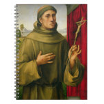 St. Francis of Assissi, c.1490 (tempera on panel) Spiral Notebooks