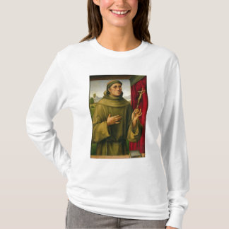 St. Francis of Assissi, c.1490 (tempera on panel) T-Shirt