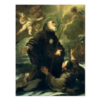 St Francis of Paola, 1416-1507) Postcard