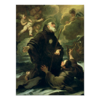 St Francis of Paola, 1416-1507) Poster