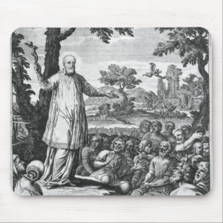 St. Francis of Sales  preaching to the Mouse Pad