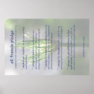 st francis pledge revised POSTER