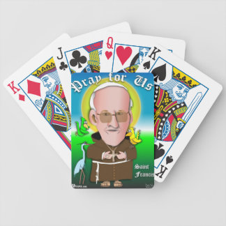 St. Francis Pray Bicycle Playing Cards