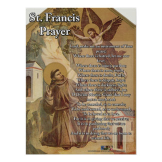 St. Francis Prayer Posters